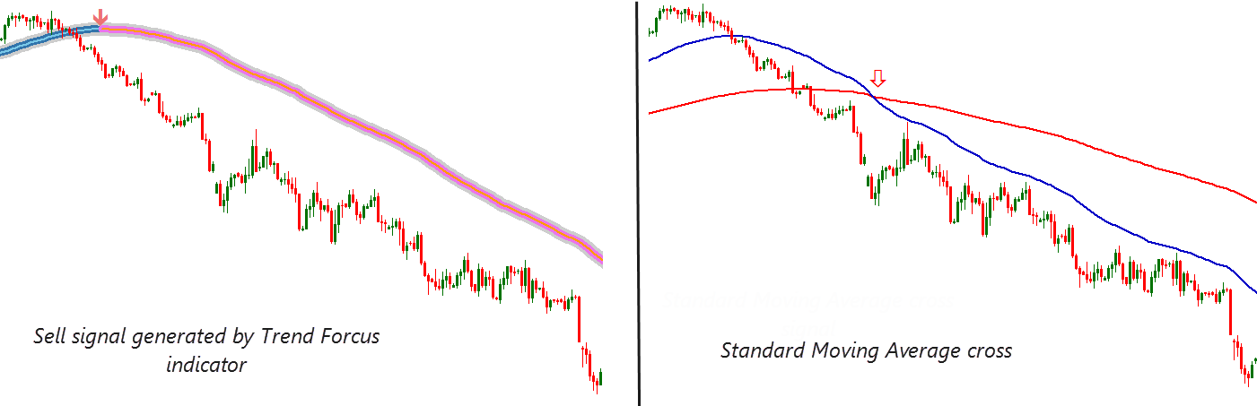how trend focus indicator works