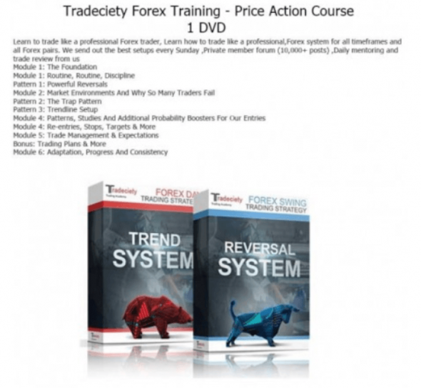 Download Tradeciety Training Price Action Forex Trading Course